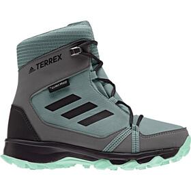 adidas TERREX SnowPitch Chaussures hiver Fille, clear mint/carbon/hi-res aqua